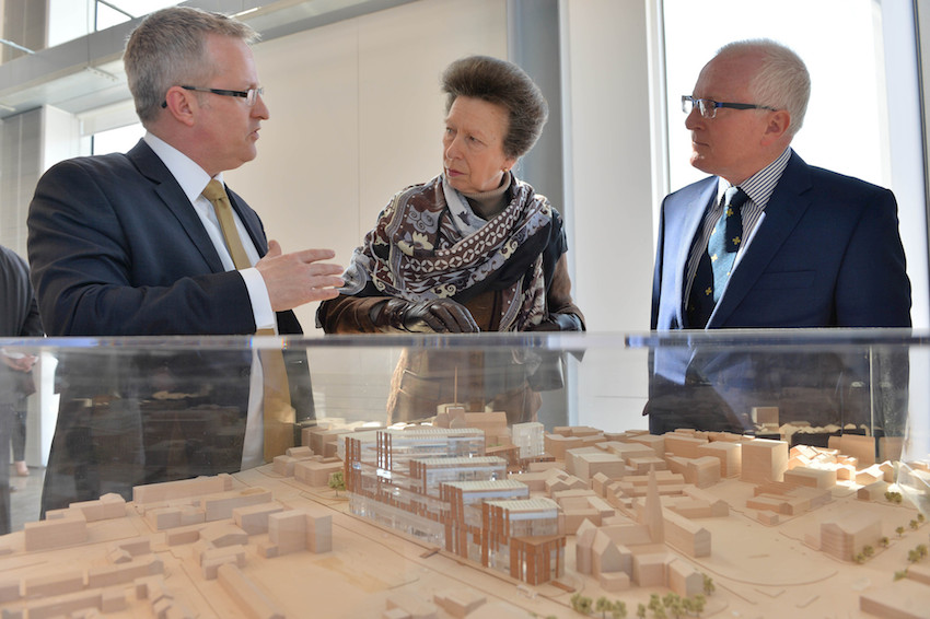 Royal opening for Ulster University's Belfast campus development