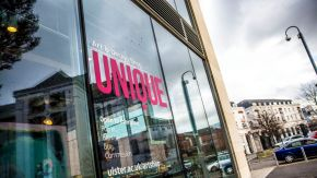 Student-led UNIQUE Art and Design shop reopens on the Belfast Campus