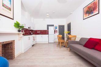 Kitchen/Lounge-Agherton Village (2-6 bed flats)