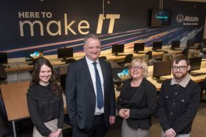 Allstate NI partnership with Ulster University continues to drive technological innovation