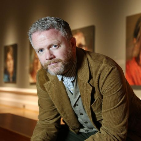 Talk by award-winning artist and Ulster Graduate Colin Davidson