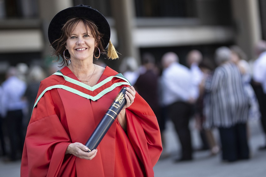 Honorary Graduate: Dr Zoe Seaton