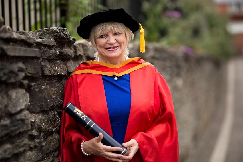 Honorary Graduate: Dr Elaine Way