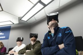 PGCE class in immersive suite