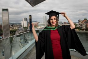 Ulster University graduate's cancer treatment inspires a career in radiography
