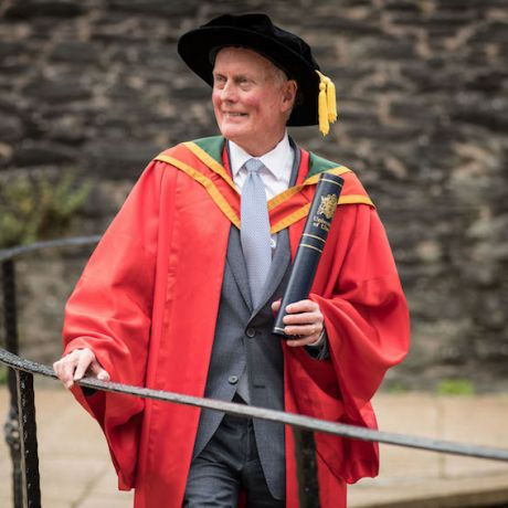 Ulster University Pro-Chancellor recognised with graduation honours