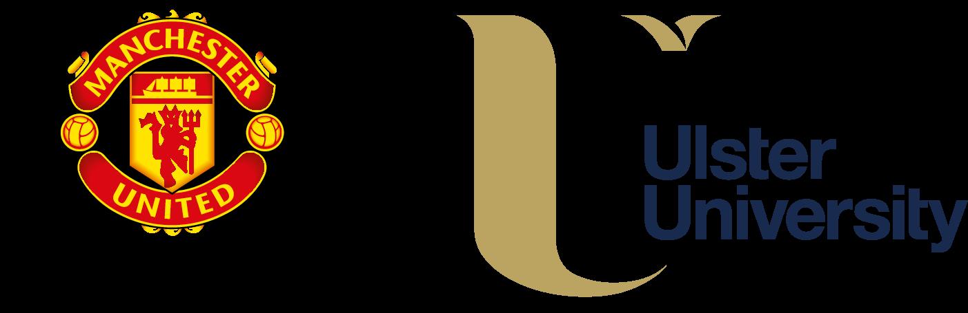 Ulster University Manchester United Foundation logo