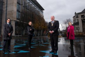 Ulster University and Belfast City Council join forces to tackle the climate change emergency