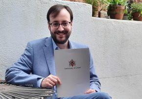 English Literature graduate realises his potential at Ulster University