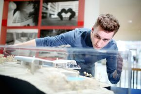Ulster University exhibition inspires next generation architects