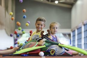 Local children get active with Ulster University sports camps