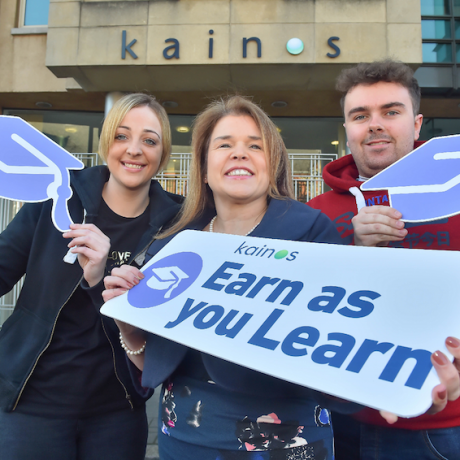 Kainos invest in future tech talent in partnership with Ulster University