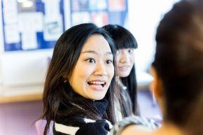 International students at Coleraine