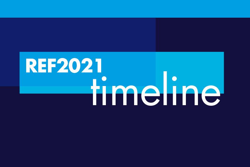 REF2021 Timeline