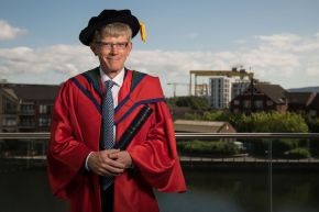 HBO Vice President honoured by Ulster University