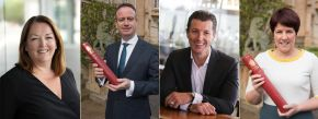Business Leaders Appointed as New Visiting Professors at Ulster University Business School