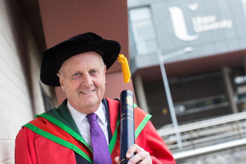 Honorary Graduate Dr David Orr