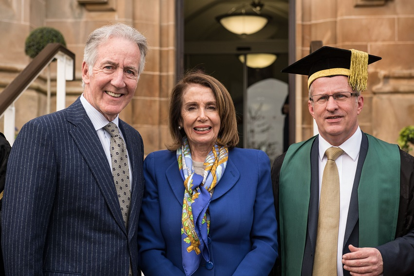Congressman Richard Neal receives honorary degree from Ulster University