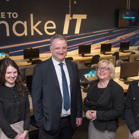 Allstate IT Lab opens at Ulster University Magee campus