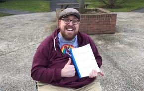 Disability advocate overcomes health issues to graduate with PhD from Ulster University