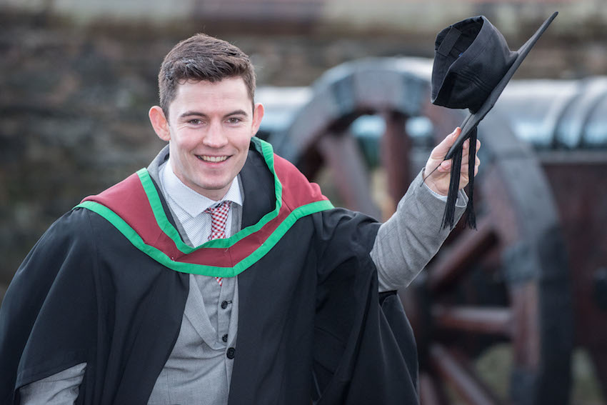 Sweet Ulster University graduation success with Nestle internship