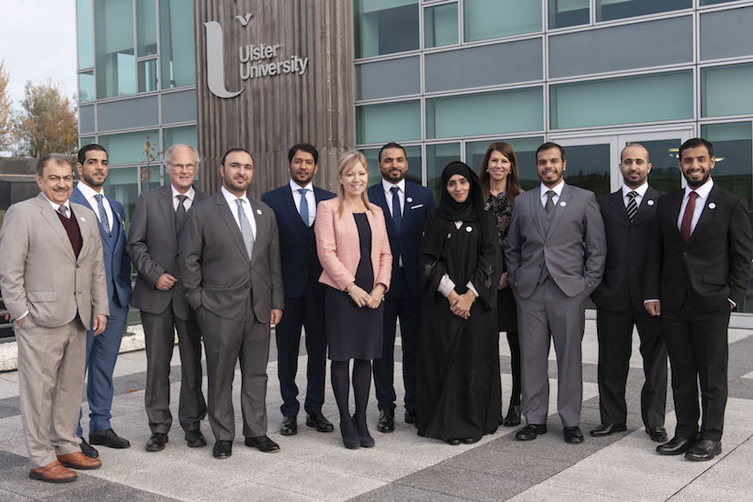 Abu Dhabi emergency services visit Ulster University