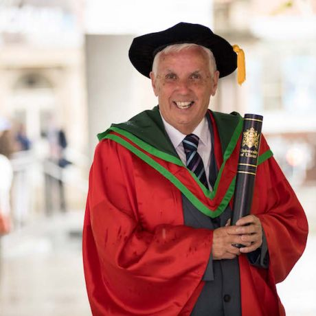 Foyle Cup founder honoured by Ulster University