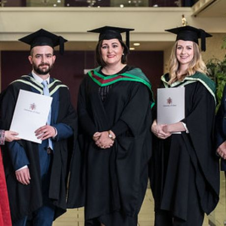 First NIAS Paramedics graduate at Ulster University