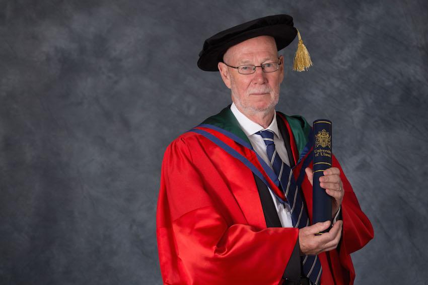 Honorary Graduate Dr Dáithí O'Ceallaigh