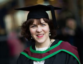 Ulster student graduates with distinction despite finishing course on home rest