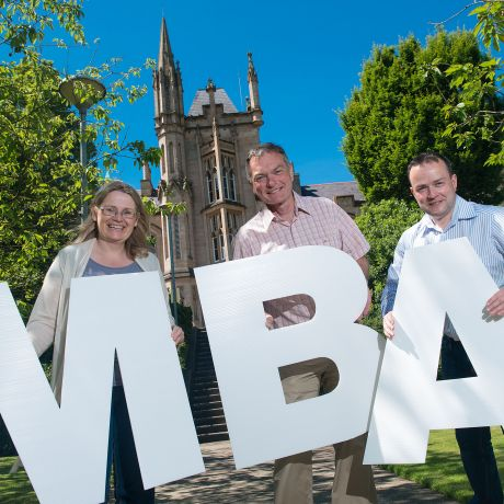 Ulster University's new flexible executive MBA supports managers in the North West