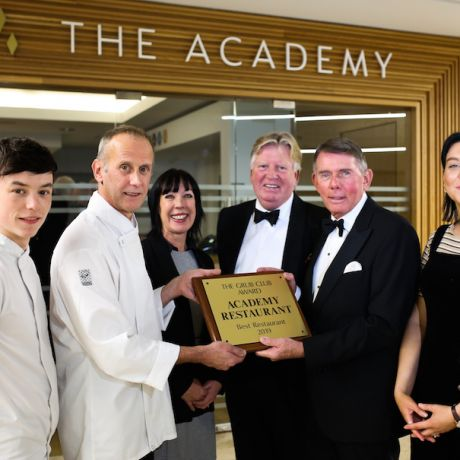 The Academy wins restaurant of the year award