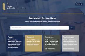 Ulster University Knowledge Portal will give NI businesses the edge