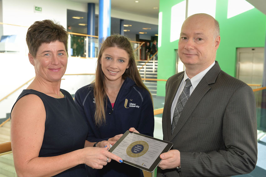 Ulster University gives young people sporting chance of career success