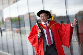 Honorary Graduate Dr Patrick Yu OBE