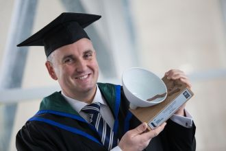 Colin Williams - First Trust Bank/Ulster University Distinguished Graduate of the Year Award 2017