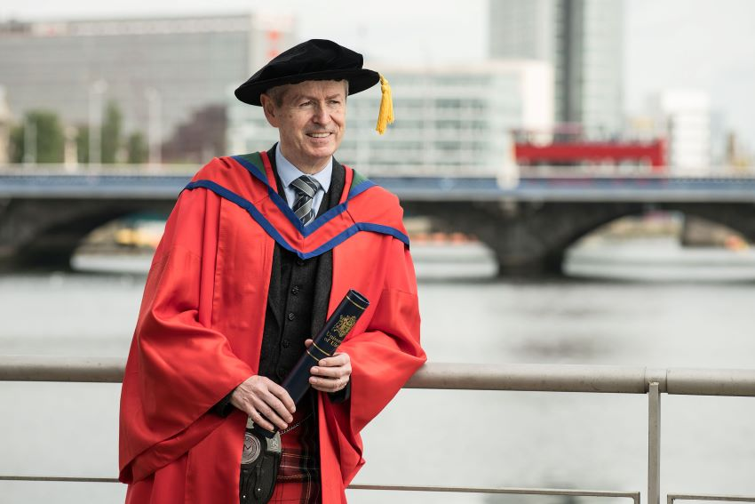 Piper honoured by Ulster University