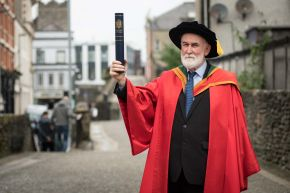Eamonn Baker honoured by Ulster University