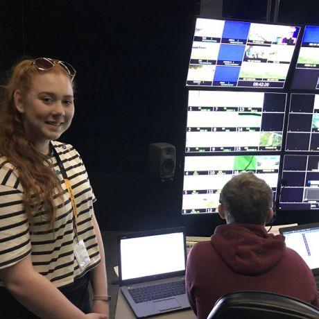 Ulster University students showcase their skills at The Open