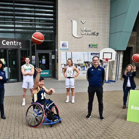 Ulster University designated as Basketball Ireland Centre of Excellence