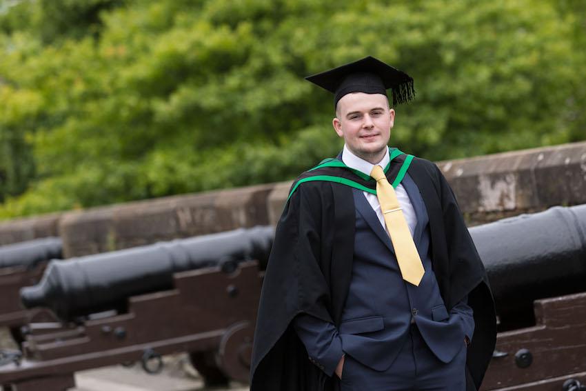 Leukemia Survivor Shaun has new lease of life following graduation