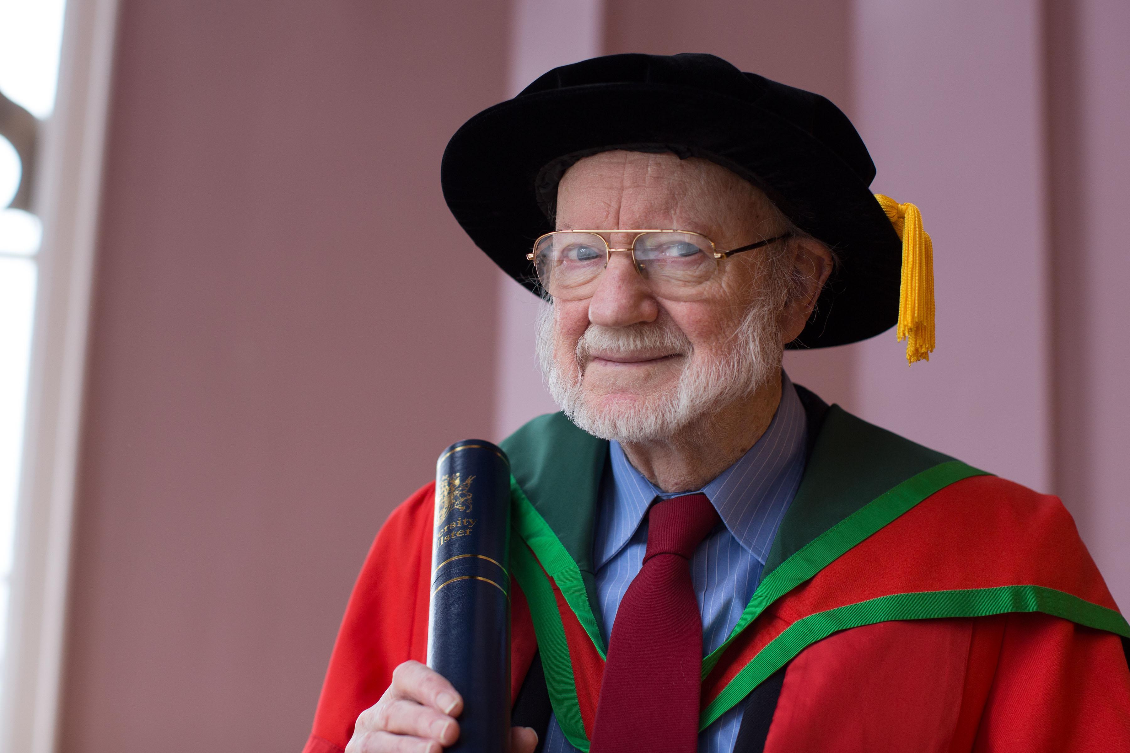Honorary Graduate, Professor William Campbell