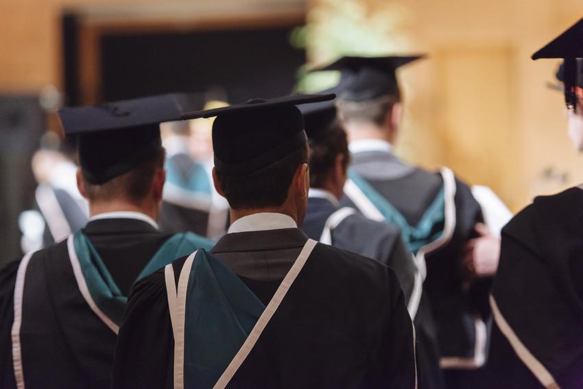 The graduation ceremony - Ulster University Graduation