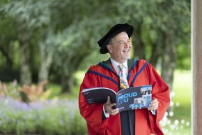 Honorary Graduate: Dr Tony Macaulay