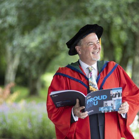 Honorary Graduate: Dr Tony Macaulay