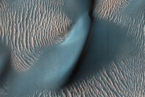 Mars dune ridges