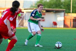 Ulster University graduate has her eye on the ball