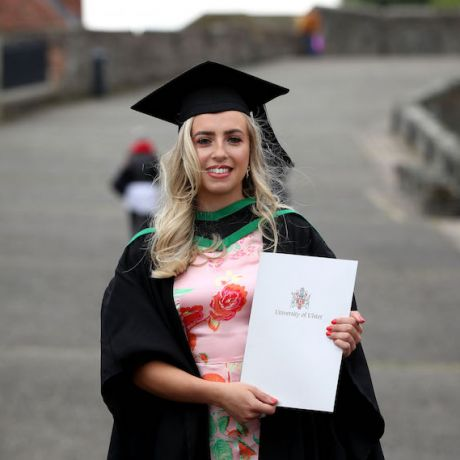 All-Ireland champion graduates from Ulster University