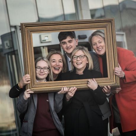 Christmas gift brings artistic masterpiece to Ulster University's Belfast campus