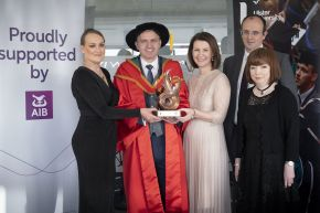 AIB Ulster University Distinguished Graduate of the Year 2019: Dr Adrian Johnston MBE